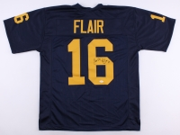"Ric Flair Signed Michigan Wolverines Jersey Inscribed ""Nature Boy"" & ""16x"" (JSA)"