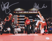 "Ralph Macchio & William Zabka Signed ""The Karate Kid"" 11x14 Photo (JSA COA)"