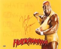 """Hulk Hogan Signed """"Hulkamania"""" 16x20 Photo (TriStar)"""