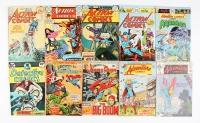 Lot of (10) Vintage DC Comic Books with Action Comics, Adventure Comics, Jimmy Olsen, Detective Comics