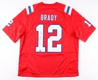 Tom Brady Signed Patriots Jersey (Steiner COA & TriStar COA)