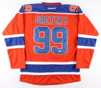 Wayne Gretzky Signed Oilers Jersey (PSA LOA)
