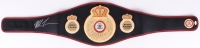 Mike Tyson Signed WBA Heavy Weight Champion High Quality Replica Full-Size Belt (JSA COA)