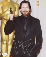 Christian Bale Signed 8x10 Photo (JSA COA)