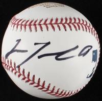 """John Travolta Signed LE """"Grease"""" Tribute OML Baseball (JSA COA)"""