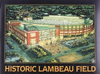 "Brett Favre Signed Packers ""Historic Lambeau Field"" 18x24 Photo (Favre COA)"