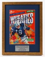 "Johnny Unitas & LeRoy Neiman Signed ""Wheaties"" 13x17 Custom Framed Print Display (JSA COA)"