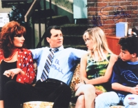 """Married With Children"" 11x14 Photo Signed by (4) With Ed O'Neill, David Faustino, Christina Applegate & Katey Sagal (PSA LOA)"