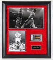 Muhammed Ali Signed 24x28 Custom Framed Cut Display (PSA Encapsulated)