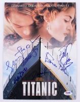 """Titanic"" Cast Press Kit Signed by (6) With Frances Fisher, Gloria Stuart, Kathy Bates, Bernard Fox  (PSA LOA)"