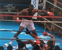 "James ""Buster"" Douglas Signed 16x20 Photo Inscribed ""Tyson KO"" & ""2-11-90"" (JSA COA)"