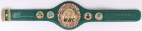 Mike Tyson Signed WBC High Quality Replica Full-Size Belt (JSA COA) at PristineAuction.com