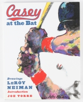 "Leroy Neiman Signed ""Casey at the Bat"" Hardcover Book (JSA COA)"