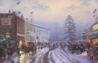 Thomas Kinkade Christmas 6x9 Lithograph