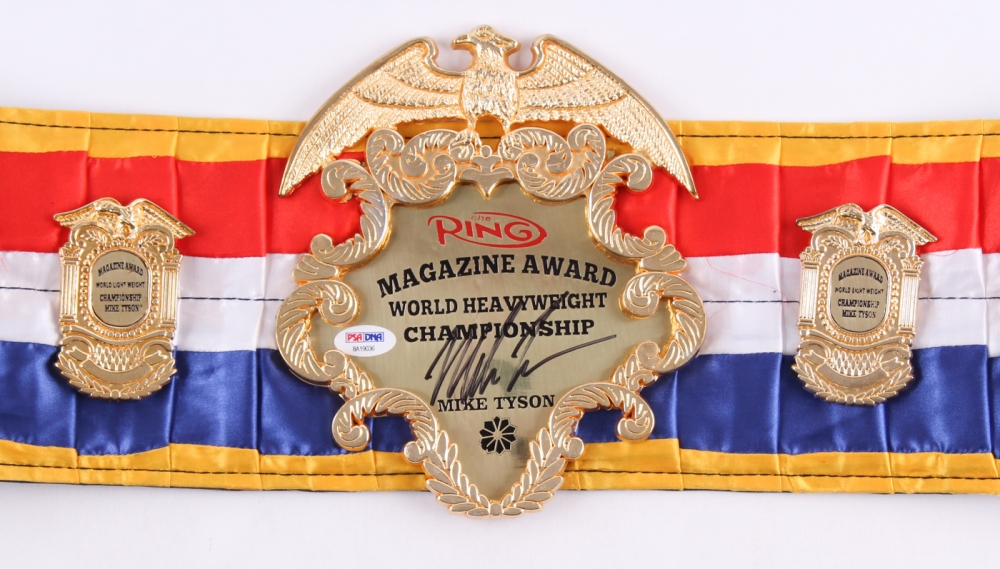 Mike Tyson Ring Magazine Belt