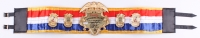 Mike Tyson Signed The Ring Magazine Award World Heavyweight Championship High Quality Replica Full-Size Belt (PSA COA)