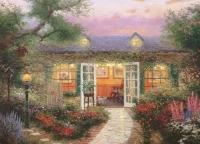 """Thomas Kinkade """"Studio in the Garden"""" 7x9 Lithograph"""