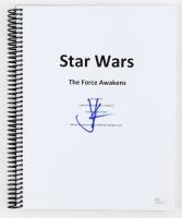 """J. J. Abrams Signed """"Star Wars: The Force Awakens"""" Full Movie Script (JSA Hologram)"""