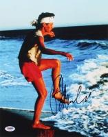 "Ralph Macchio Signed ""The Karate Kid"" 11x14 Photo (PSA Hologram)"
