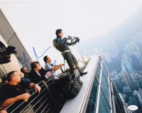 "Christian Bale Signed ""Batman"" 11x14 Photo (JSA COA)"