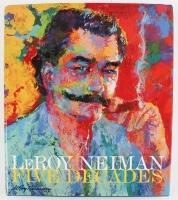 "Leroy Neiman Signed ""Five Decades"" Hardcover Book (JSA COA)"