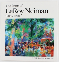 "Leroy Neiman Signed ""The Prints of Leroy Neiman 1980 -1990"" Hardcover Book (JSA COA)"