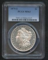 1879-S Morgan Silver Dollar (PCGS MS63)