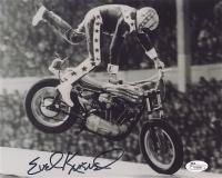 Evel Knievel Signed 8x10 Photo (JSA COA)