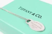 Tiffany & Co. Oval Tag Pendant