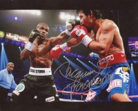 "Manny ""Pacman"" Pacquiao Signed 8x10 Photo vs Floyd Mayweather (Pacquiao COA)"