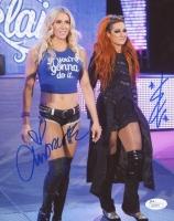 Charlotte Flair & Becky Lynch Signed 8x10 Photo (JSA COA)