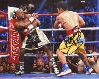 Manny Pacquiao Signed 8x10 Photo vs Floyd Mayweather (Pacquiao COA)