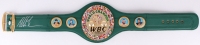 Mike Tyson Signed WBC High Quality Replica Full-Size Belt (JSA COA)