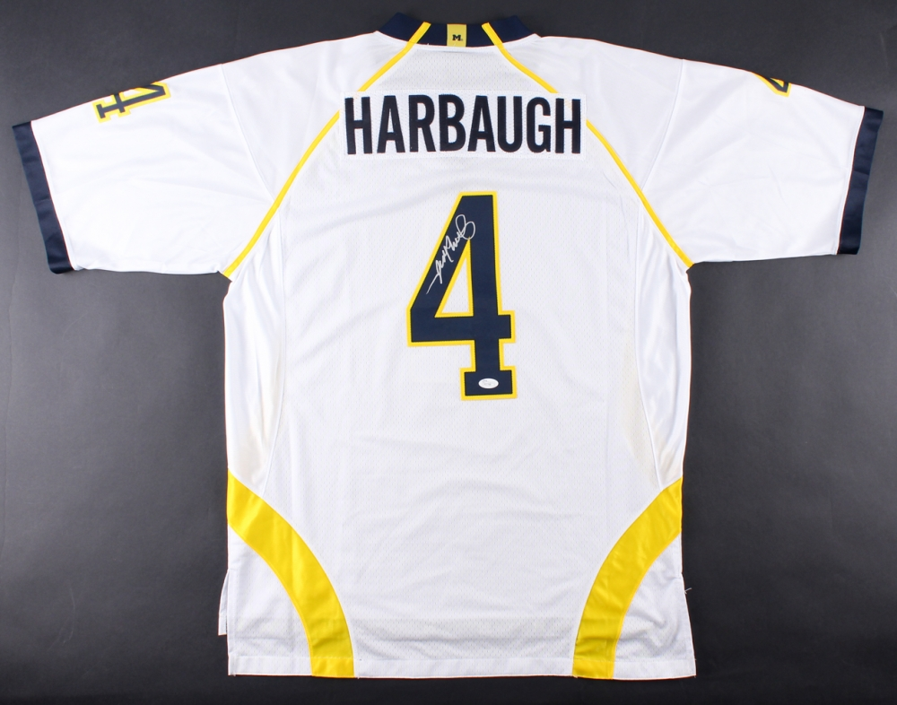 1e045d9ef31 Nike NFL jim harbaugh michigan player jersey
