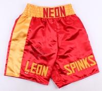 Leon Spinks Signed Boxing Shorts (MAB Hologram)