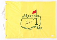 Jack Nicklaus Signed 2016 Masters Golf Pin Flag (JSA LOA)