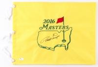 Bernhard Langer Signed 2016 Masters Golf Pin Flag (JSA COA)