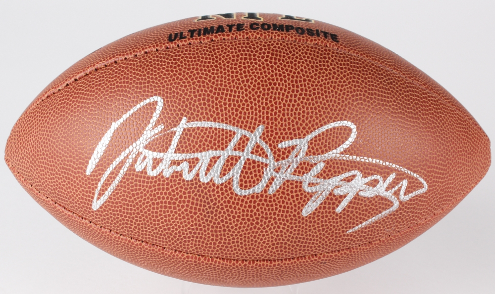f811610c6 Jabrill Peppers Signed NFL Football (JSA COA) at PristineAuction.com