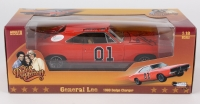"Tom Wopat & John Schneider Signed ""General Lee"" Dukes of Hazzard 1/18 Die Cast Car with (4) Inscriptions (JSA COA)"