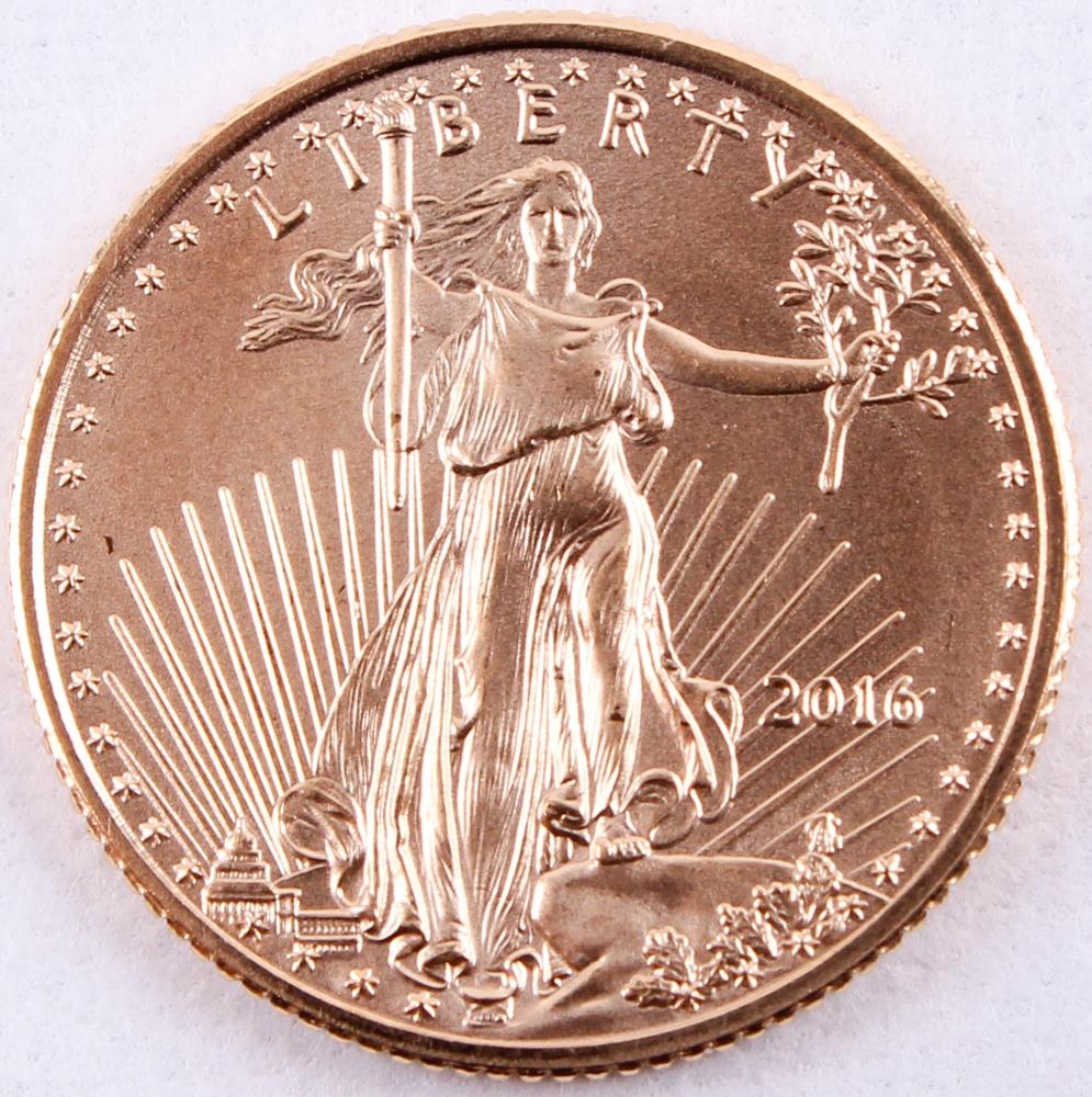 1 10 ounce 5 dollar gold coin