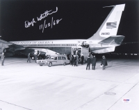 "Doyle Whitehead signed ""Air Force One"" 11x14 Photo Inscribed ""11/23/63"" (PSA COA)"