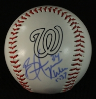 Bryce Harper Signed Nationals Logo Baseball (GA COA) at PristineAuction.com