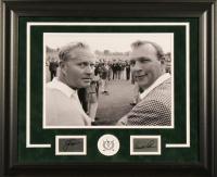 Arnold Palmer & Jack Nicklaus 19x23 Custom Framed Display