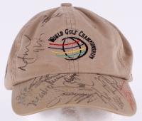 "PGA Tour ""World Golf Championships"" Cap Signed By (17) Including Tiger Woods, Phil Mickelson, Mark O'Meara, Vijay Singh (JSA ALOA)"