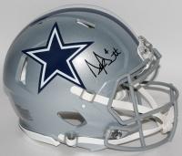 Dak Prescott Signed Cowboys Speed Full-Size Authentic Pro-Line Helmet (JSA COA)