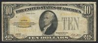 1928 $10 Ten Dollar U.S. Gold Certificate Currency Note