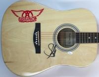 """Steven Tyler Signed """"Aerosmith"""" Huntington Acoustic Guitar (JSA COA)"""
