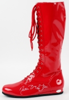 """Ric Flair Signed Wrestling Boot Inscribed """"Nature Boy"""" (JSA COA) at PristineAuction.com"""