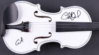 """Charlie Daniels Signed Fiddle Inscribed """"GA"""" (JSA ALOA)"""
