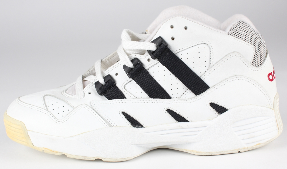 Kareem Abdul-Jabbar Signed Vintage Adidas Basketball Shoe (JSA COA) at  PristineAuction.
